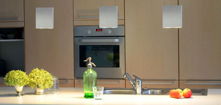 Küche - Privathaus: Licht