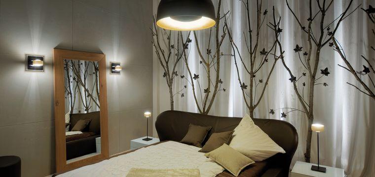 Schlafzimmer - Privathaus: Licht