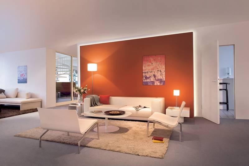 Licht für farbige Wände: licht.de
