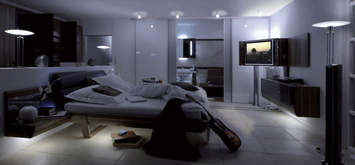 Lampe fr schlafzimmer ihr traumhaus ideen - Deckenleuchten spots ideen ...