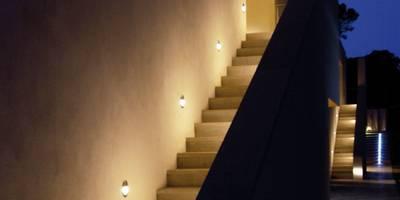 LEDs sind auch eine gute Wahl für Wandeinbauleuchten. Ebenfalls gut ...